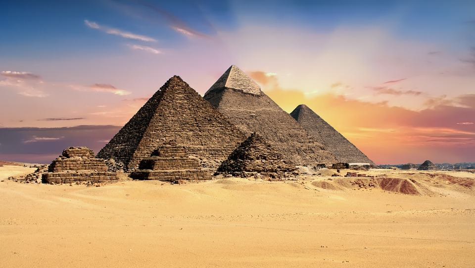 Pyramids - Fun Facts About Egypt