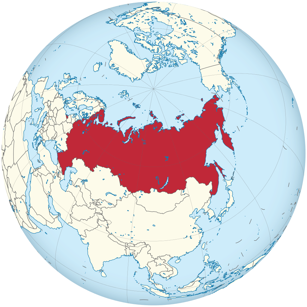 Russia Size - Fun Facts About Russia