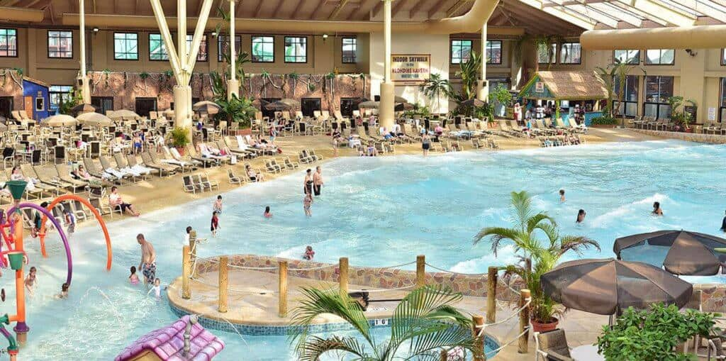 The Wilderness Hotel and Golf Resort - Best Hotels with Indoor Waterparks
