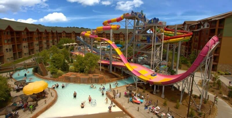 Wilderness at the Smokies - Best Hotels with Indoor Waterparks