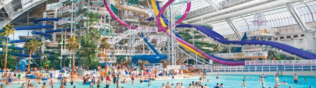 World Waterpark - Best Hotels with Indoor Waterparks