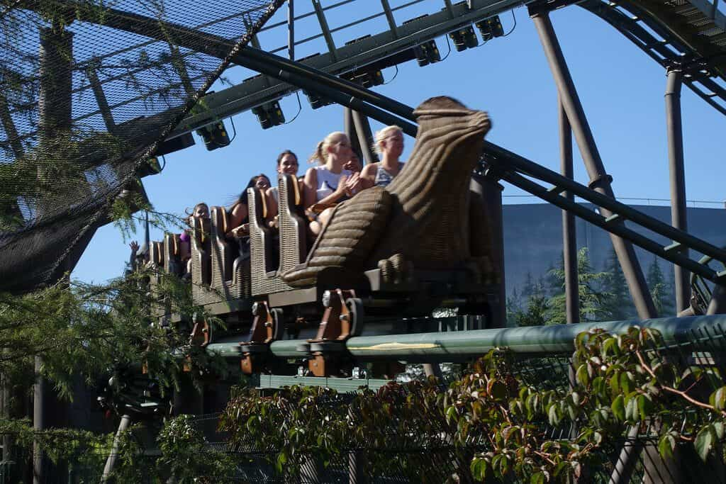 Harry Potter Roller Coaster - Awesome Facts About Universal Studios Harry Potter