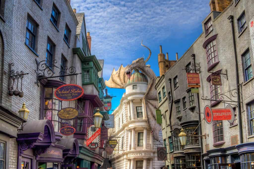 Diagon Ally - Awesome Facts About Universal Studios Harry Potter