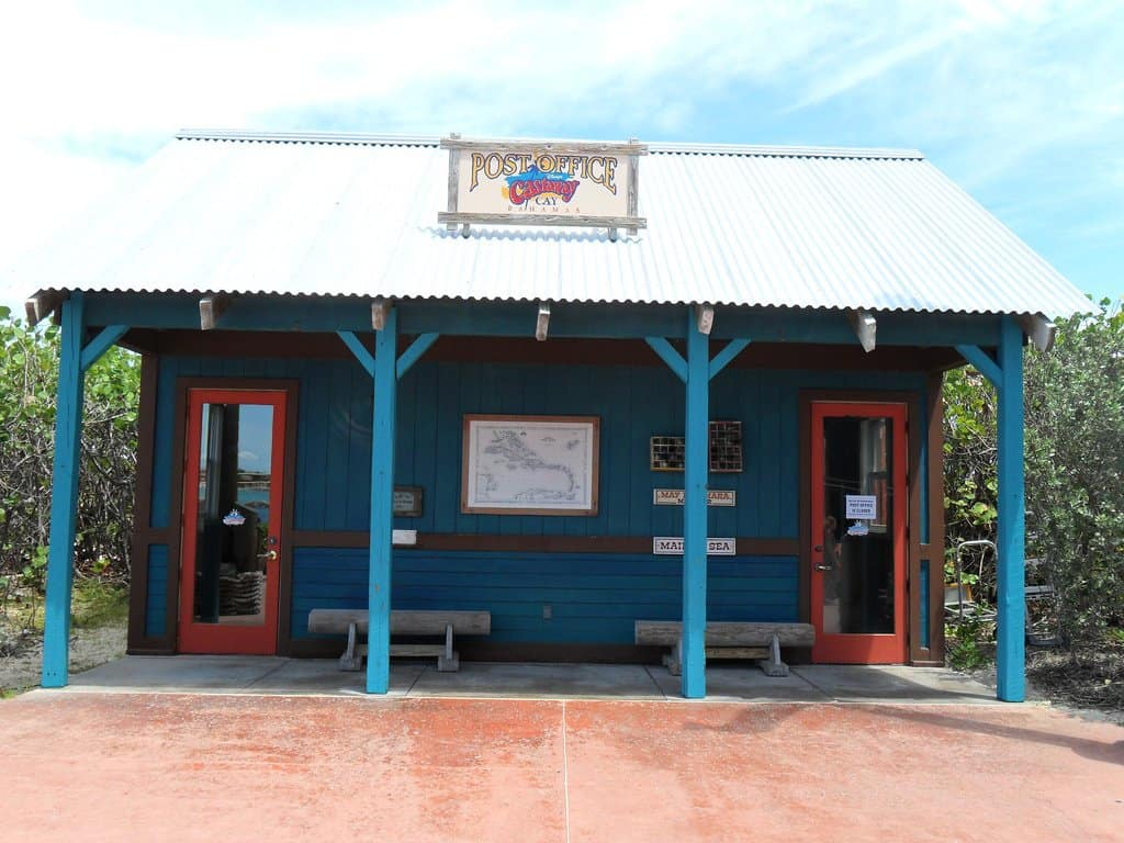 Disney Castaway Cay post office