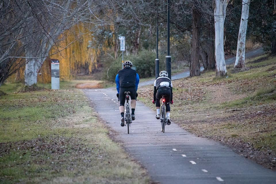 Biking - Romance While Traveling