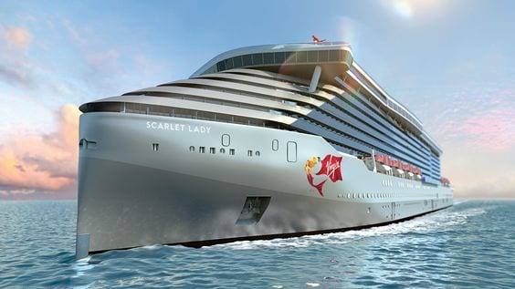The Scarlet Lady - Virgin's New Adults-Only Cruise Ship