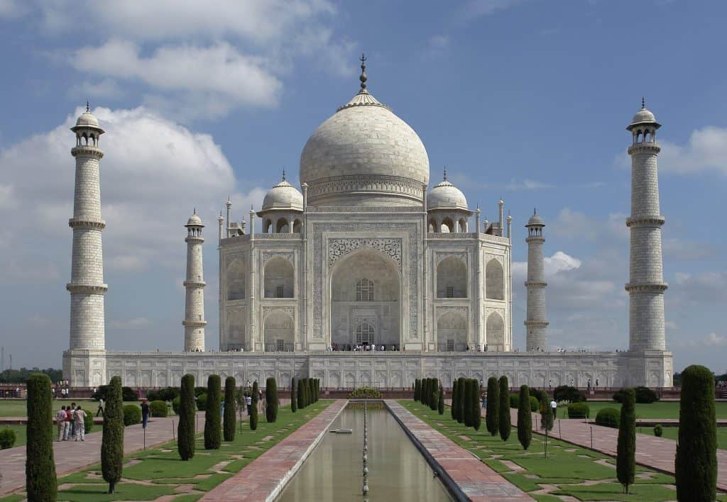 Taj Mahal - Best Asian Countries to Visit