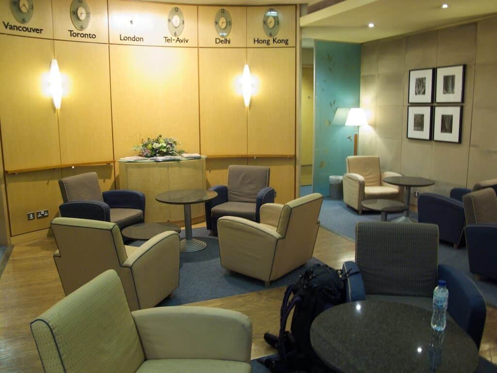 Airport Lounge Without A Business Class Ticket