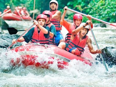 Rafting in Ayung