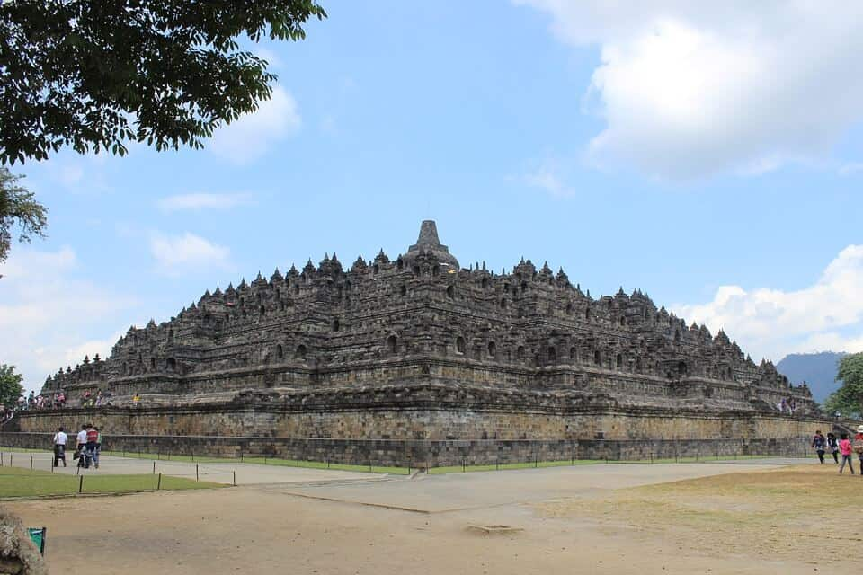 Ruins of Borobudur