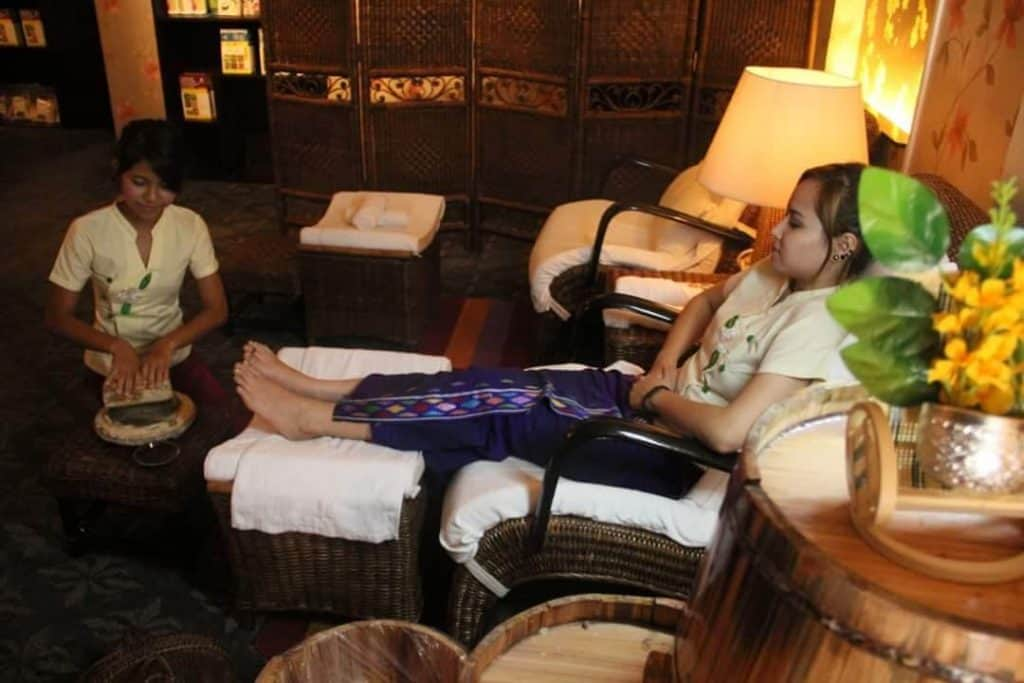 Relaxing at a Spa - Best Things to Do in Myanmar