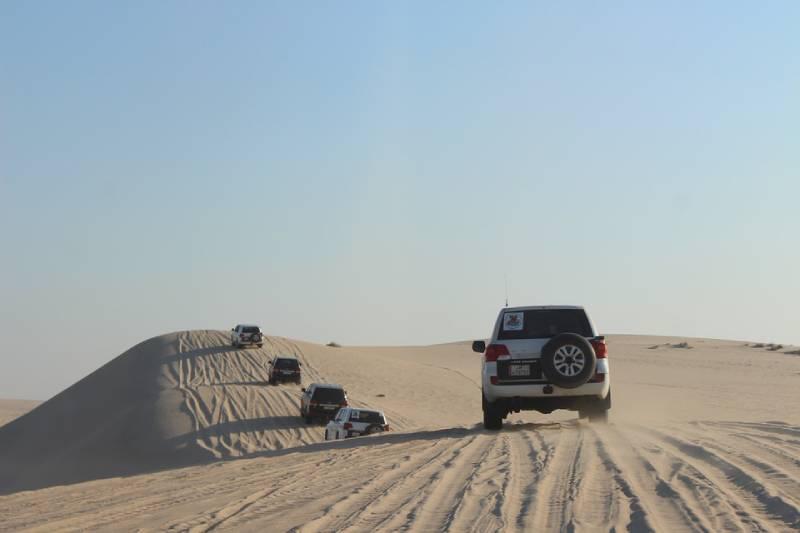 Qatar desert landscapes