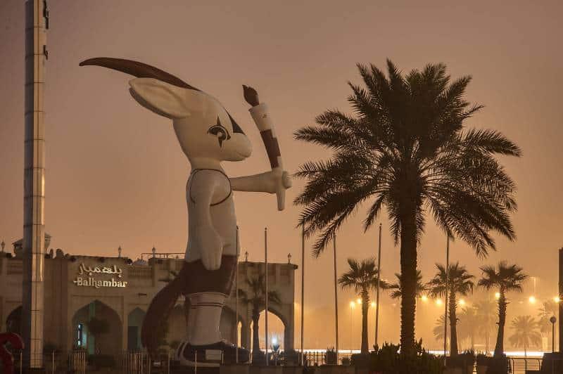 Oryx symbol in Qatar