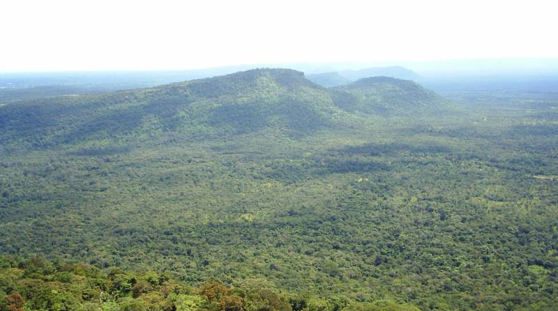 Dangrek Mountains