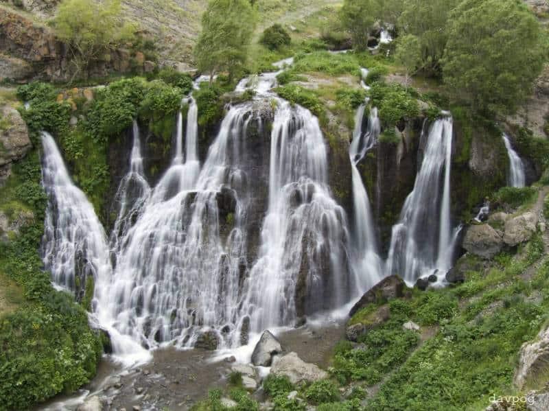 Shaki Waterfalls