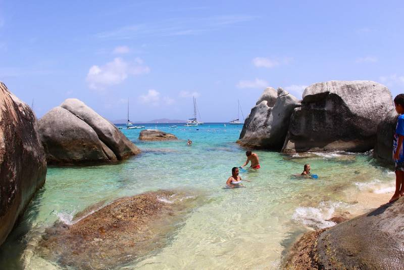 Baths - Family Vacation to the British Virgin Islands