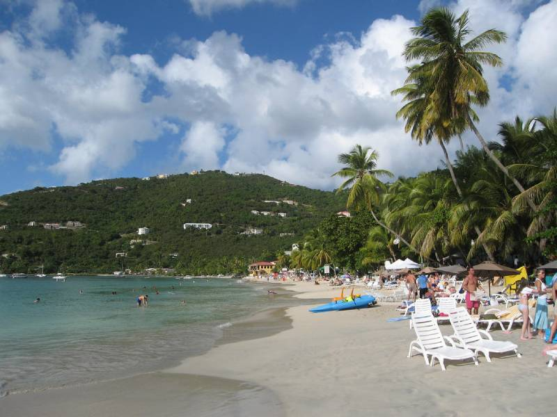 Cane Garden Bay - Family Vacation to the British Virgin Islands