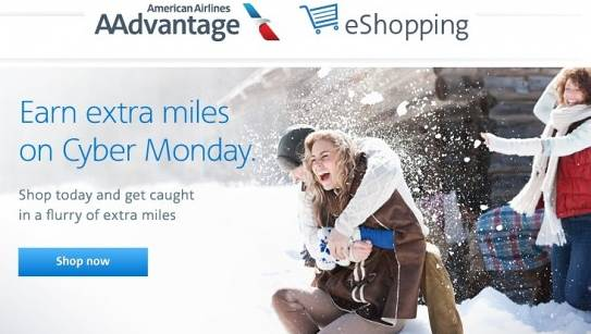 Earning miles from Shopping Portals