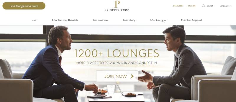 Priority Pass For Free Airport Lounge Access