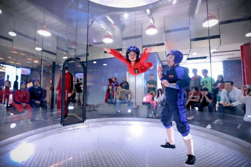 iFLY Downunder Indoor Skydiving - Sydney Australia With Kids