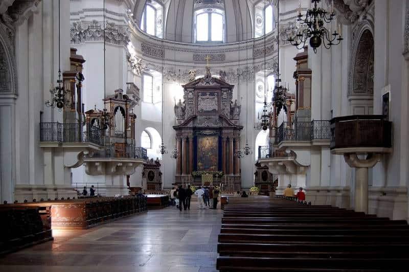 Salzburg Cathedral - Visit Salzburg Austria with kids