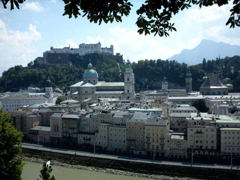 Salzburg Fortress - Visit Salzburg Austria with kids