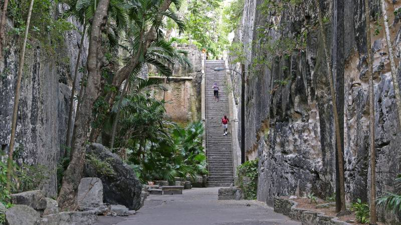 Queen's Staircase - Bahamas for a short weekend Trip