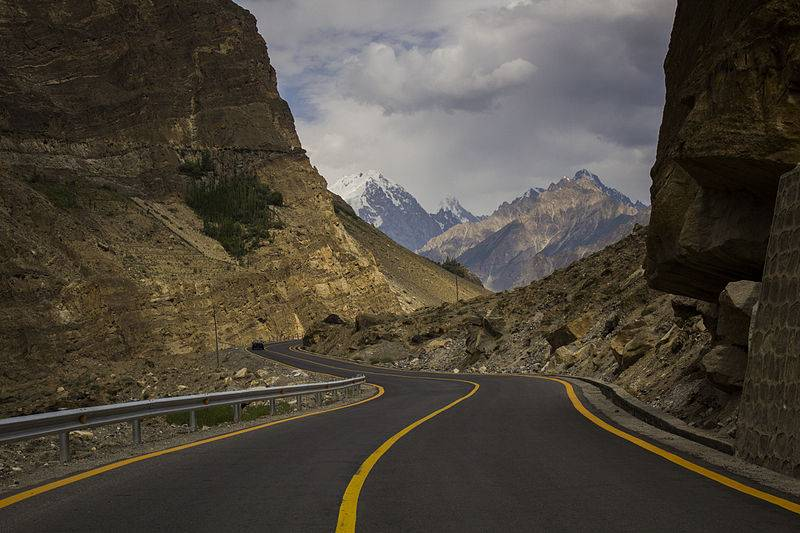 The Karakoram Highway - Best Scenic Drives In Asia