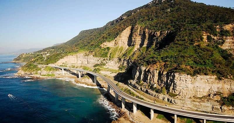 Sea Cliff Bridge - Best Scenic Drives In Australia