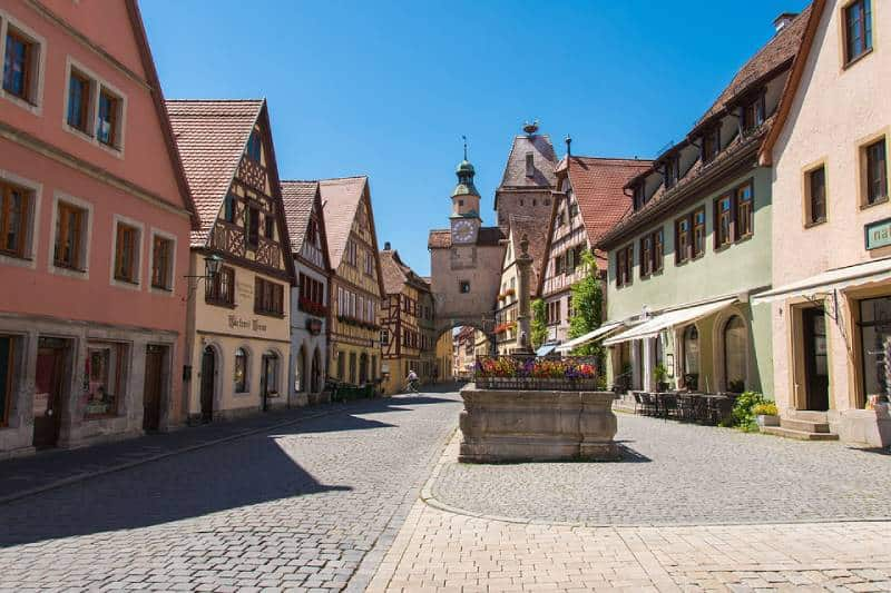 Romantic Road, Germany - Best Scenic Drives In Europe