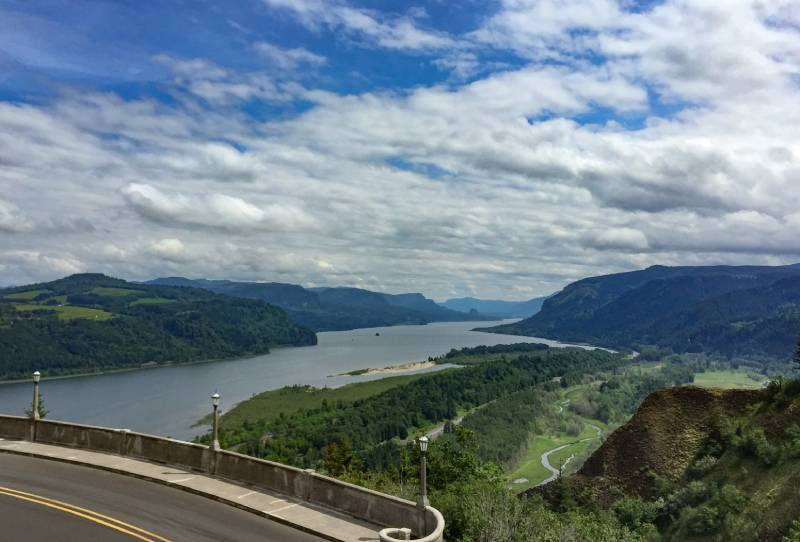 Historic Columbia River Highway, Oregon