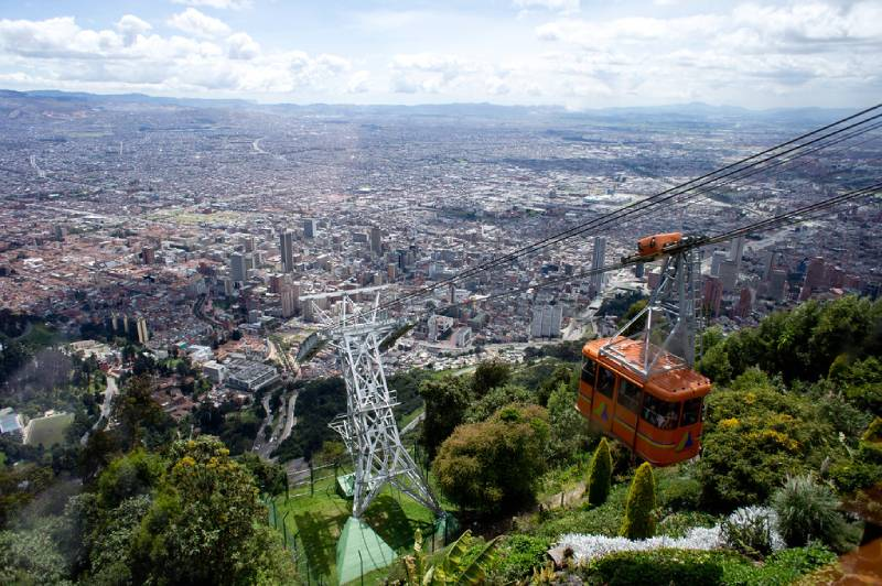 Cable Car to Monserrate - Things to Do in Bogota