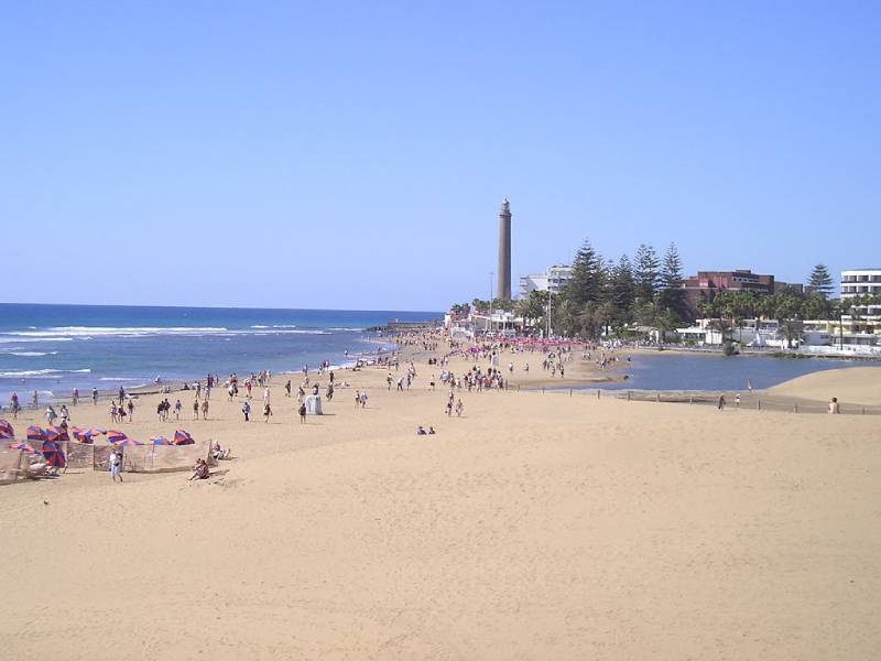 Playa de Maspalomas - Canary Islands