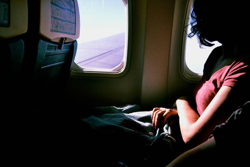 Woman in Flight - Tips for Safe Flying in the Third Trimester