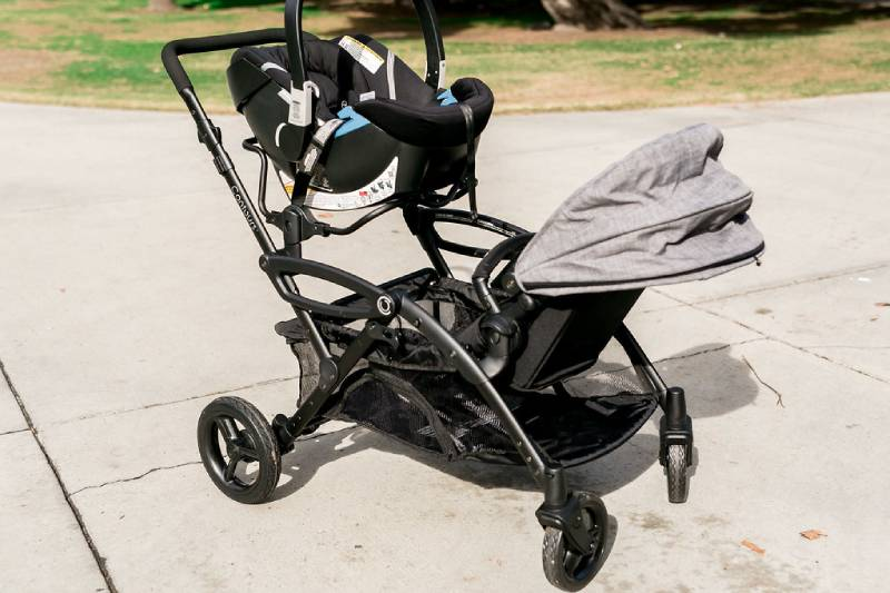 Double Stroller - Travel with Both an Infant and a Toddler at the Same Time