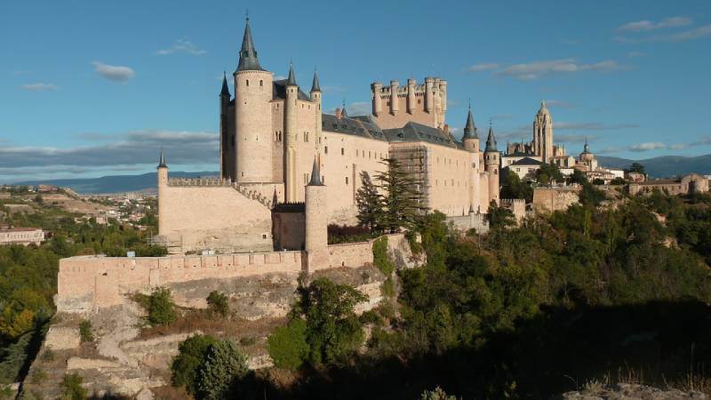 Alcazar de Segovia - Abandoned Castles You Can Visit with Kids