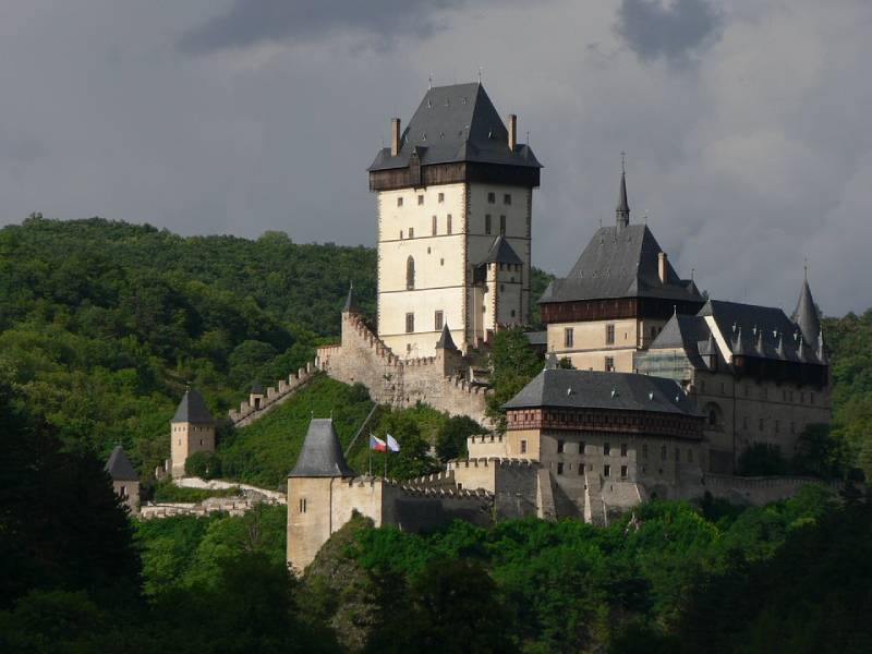 Castle Karlstejn - Best Places to Go in Czech Republic with Family
