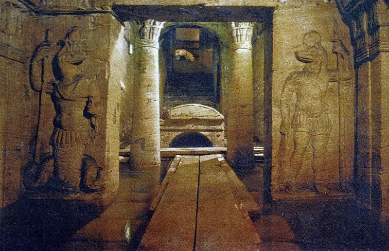 Catacombs Kom El Shoqafa, Egypt - Unique Spots To Visit With Kids