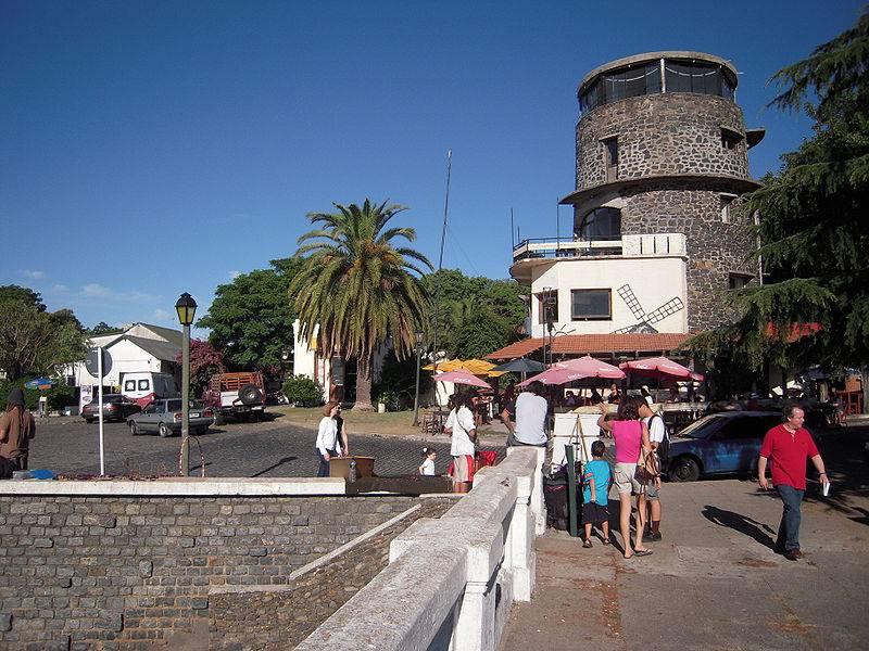 Colonia del Sacramento - Uruguay with Family