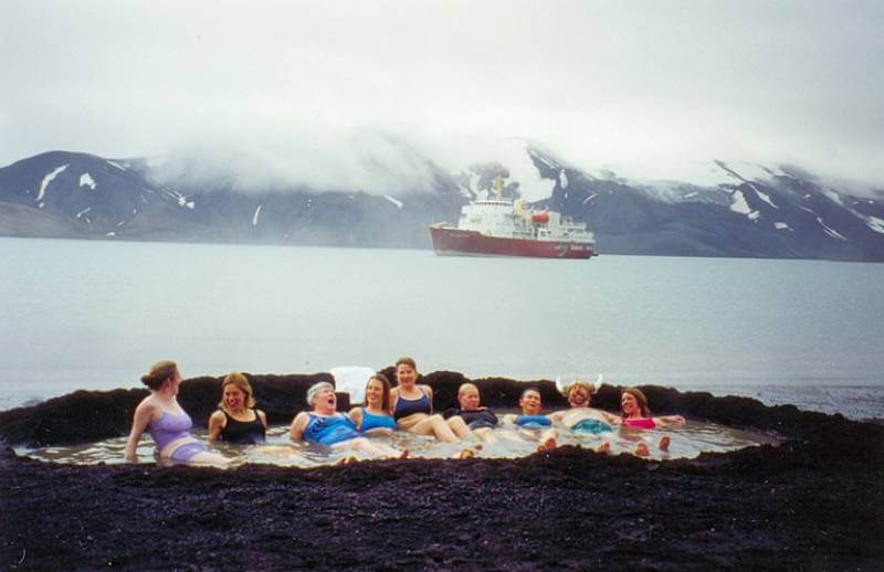 Deception Island Hot Springs - Best Hot Springs in the World