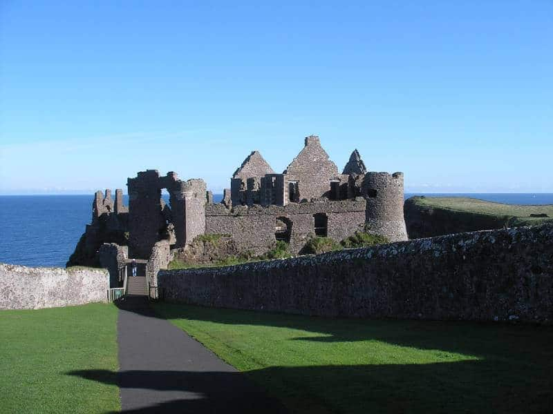 Dunluce Castle - Abandoned Castles You Can Visit with Kids