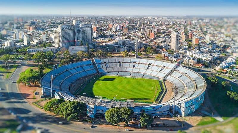 Estadio Centenario - Uruguay with Family