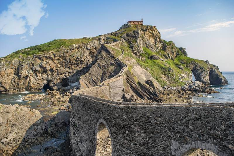 Gaztelugatxe - Game of Thrones Locations You Can Actually Visit