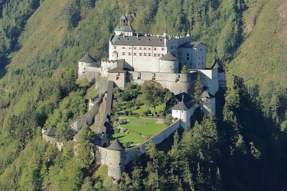Hohenwerfen Castle - Abandoned Castles You Can Visit with Kids