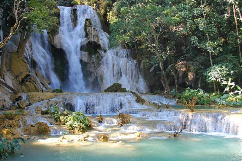 Kuang Si Falls - Best Natural Swimming Holes