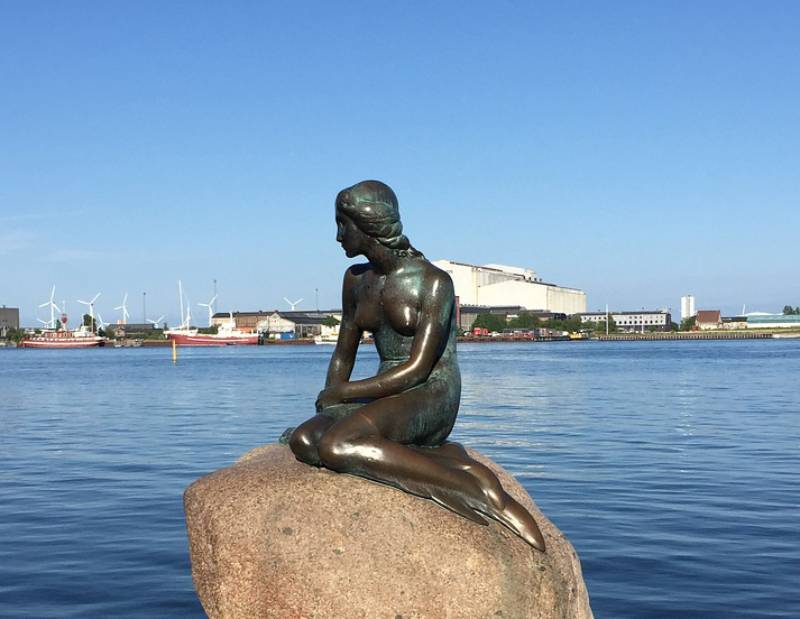 Little Mermaid Statue - Denmark with Kids