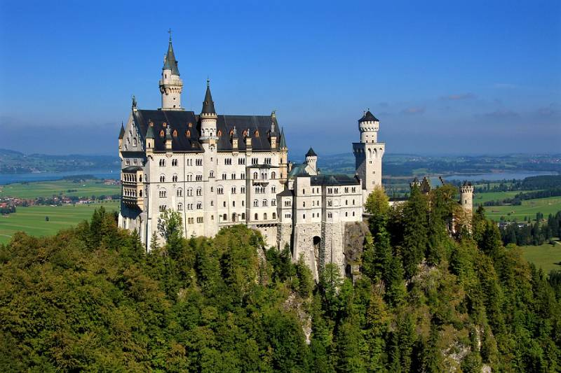Neuschwanstein Castle, Germany - Unique Spots To Visit With Kids