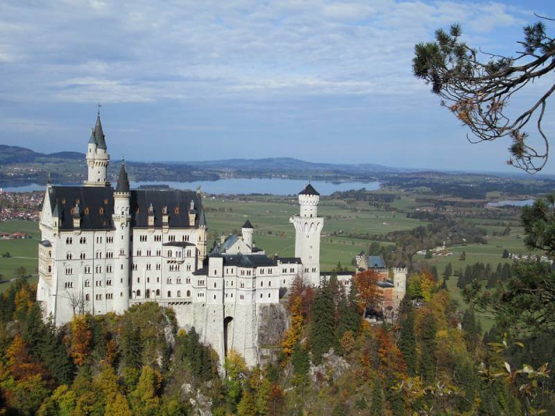 Neushwanstein Castle - Abandoned Castles You Can Visit with Kids
