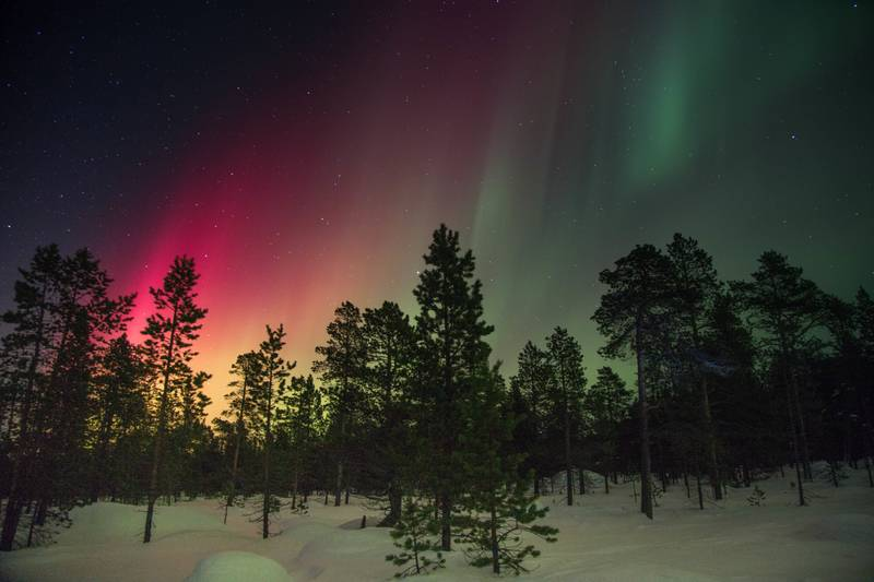 Northern lights Sweden