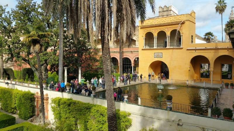 Royal Palace of Sevilla, Spain - Unique Spots To Visit With Kids